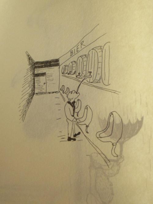 cartoon of the night
