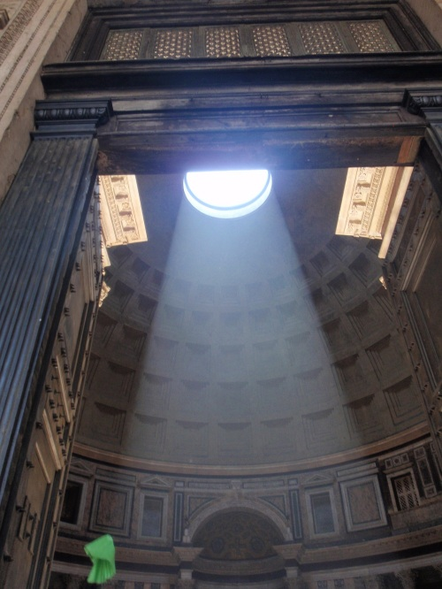 The Pantheon in Rome (temple of all Gods)