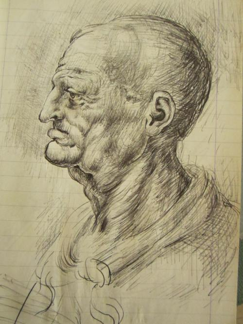 Portrait of the day: old man