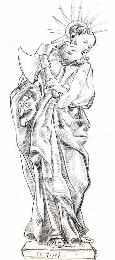 St.Joseph drawing