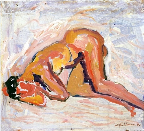 Nude painting of the day: the sleeping woman