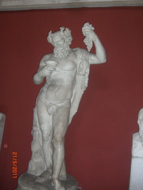Old Bacchus (Dionysus)