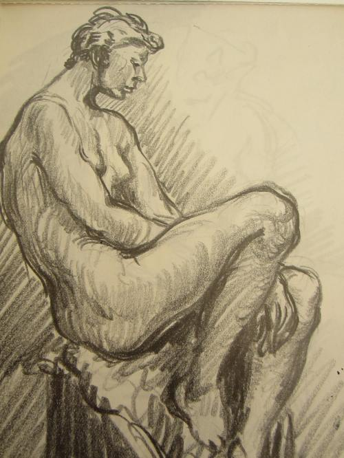 Nude sketch of the day