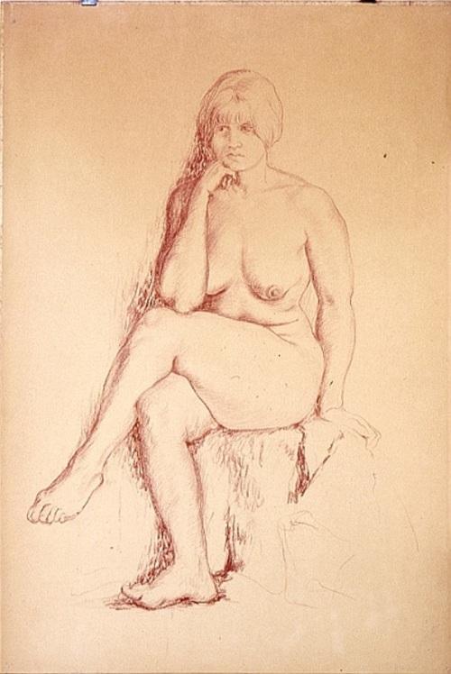 Nude portrait of a beauty!