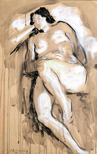 Nude painting of the day!