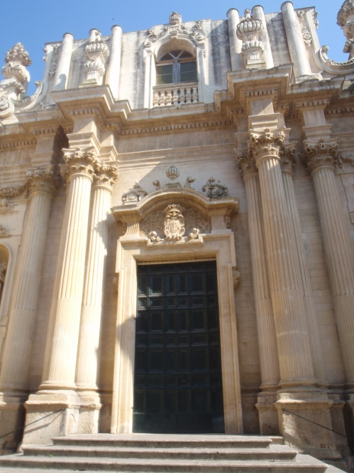 Stunning architecture in Lecce (Italy)