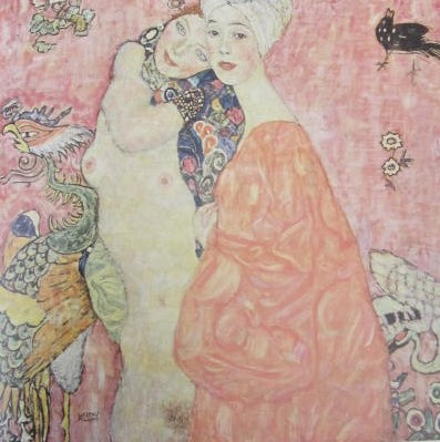 Friends by Gustav Klimt!