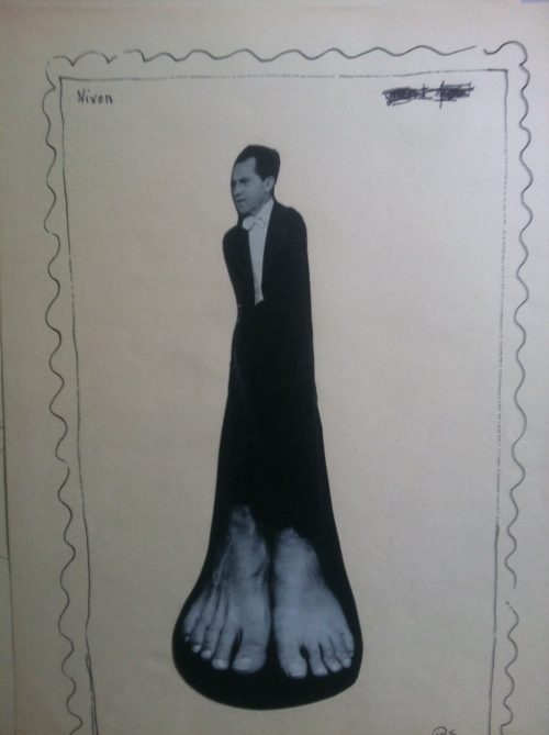 Cartoon of the day: Nixon stamp!
